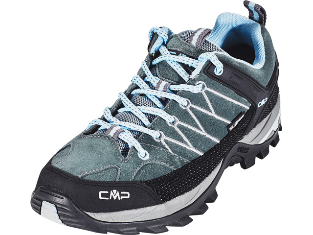 CMP Campagnolo Rigel Low WP Trekking Shoes Women Graffite-Azzurro